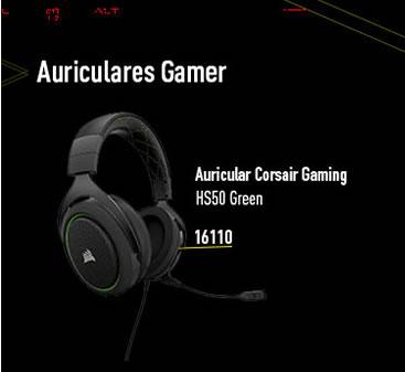 Auriculares Gamer Corsair